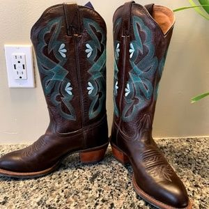 NWT 7.5B Tony Lama Teran Brown Boots